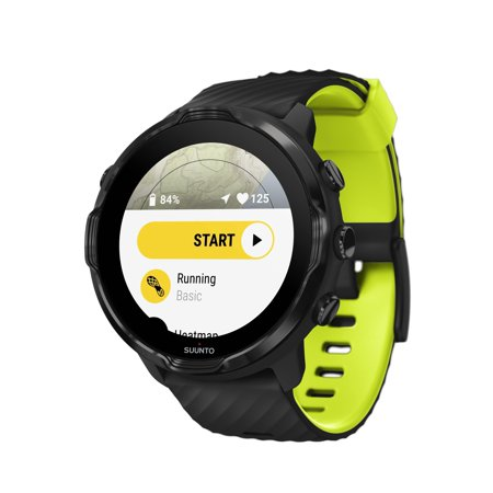 Suunto 7 Fitness/Lifestyle GPS Smartwatch Black Lime