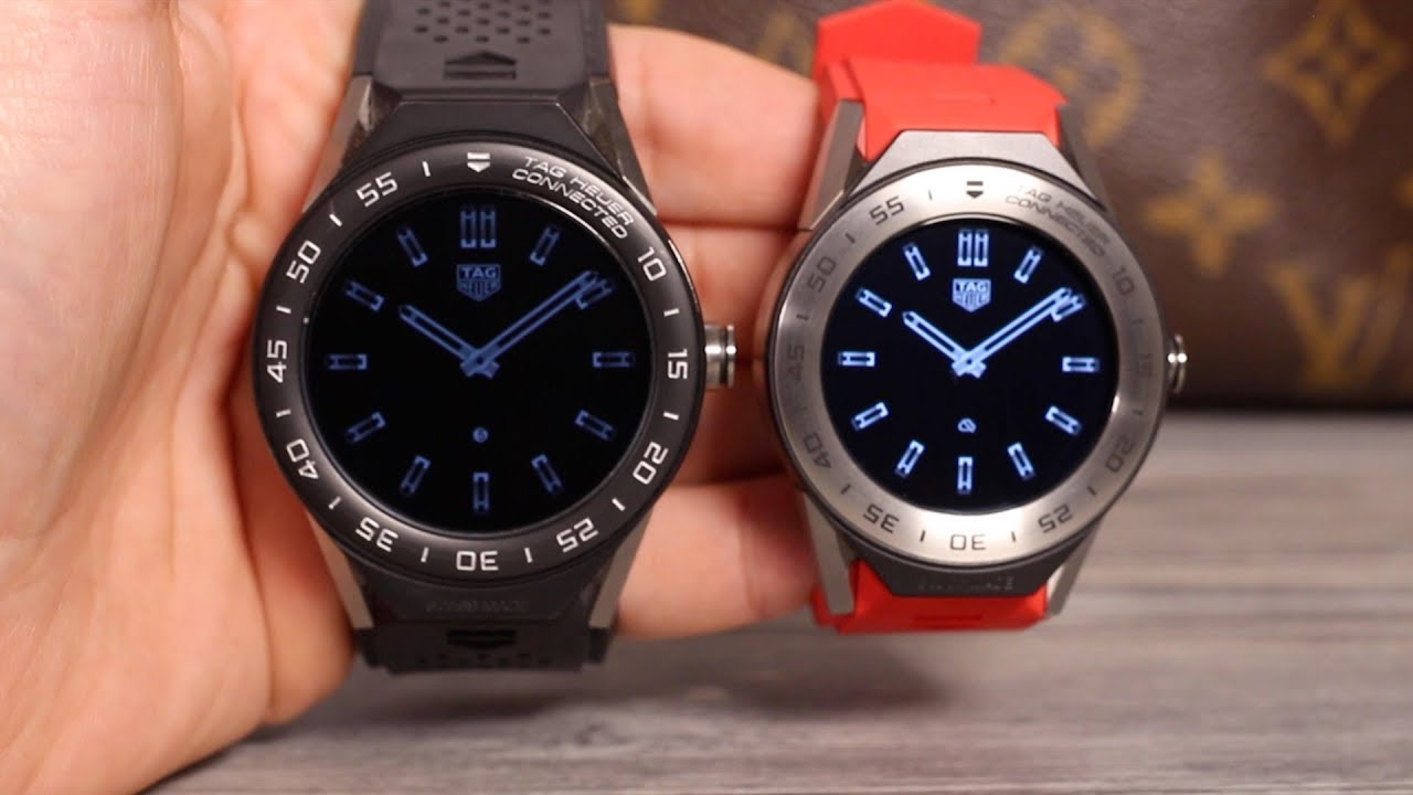 TAG Heuer Connected Modular 41 Testbericht - YouTube
