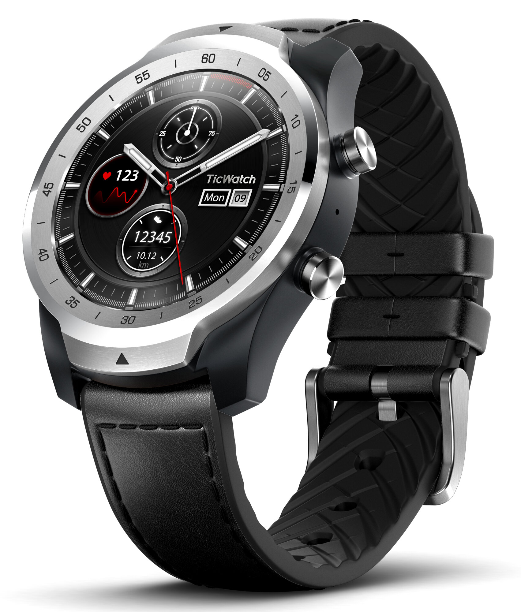The new TicWatch Pro 2020 smartwatch promises up to 30 ...