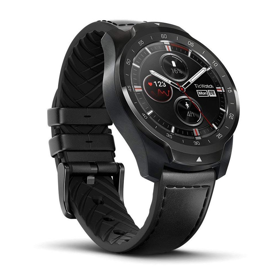 The Ticwatch Pro Smartwatch Has a Second Screen That Saves ...