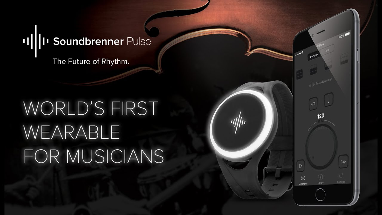 The World's First Wearable for Musicians: Soundbrenner ...