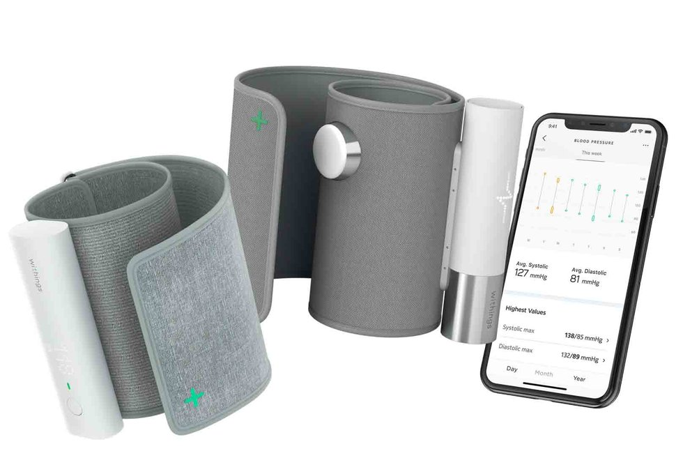Withings BPM Core measures heart rate, blood pressure and ...