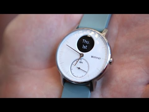 Withings Steel HR puts fitness tech in an analog watch ...