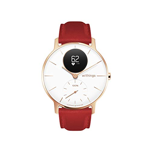 Withings Steel HR - Red - Sapphire Glass - Limited Edition - 36mm