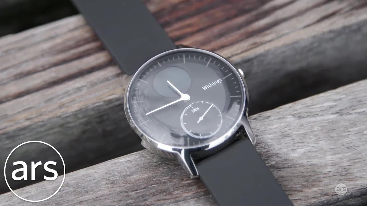 Withings Steel HR Review   Ars Technica - YouTube