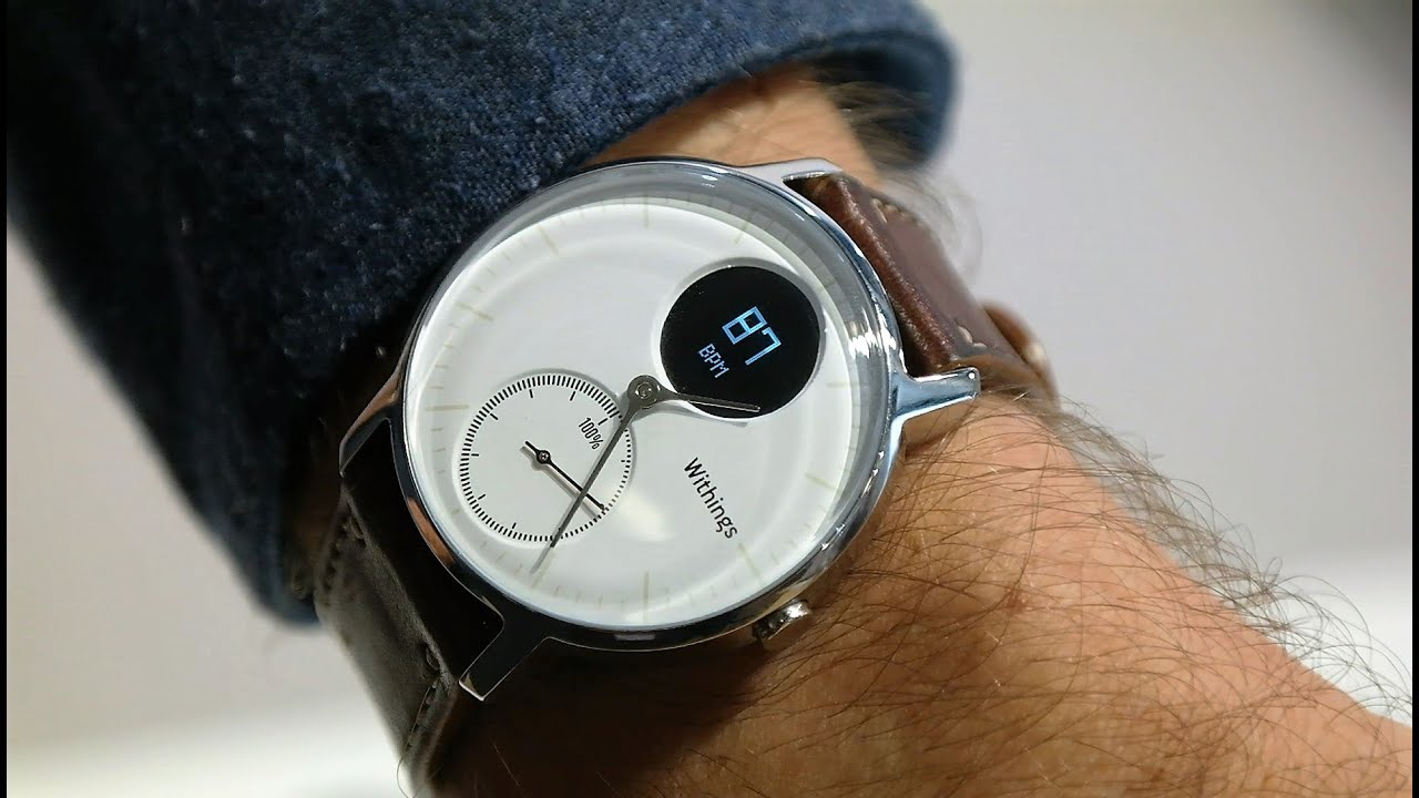 Withings Steel HR Smartwatch First Look: Re-Uploaded with ...