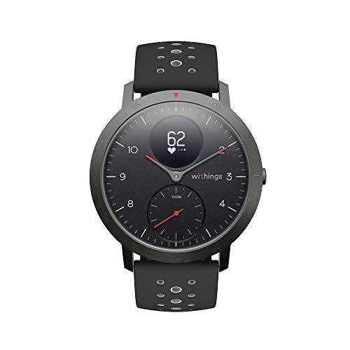 Withings Steel HR Sport Hybrid Smartwatch (40mm) - BLACK