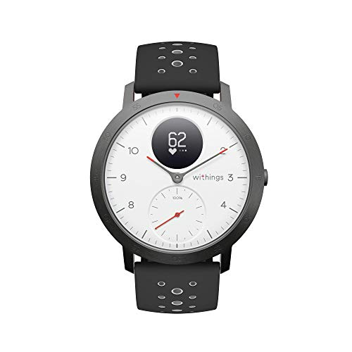 Withings Steel HR Sport Hybrid Smartwatch (40mm) - WHITE