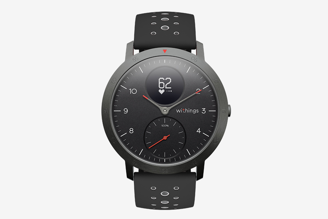 Withings Steel HR Sport Smartwatch | HiConsumption