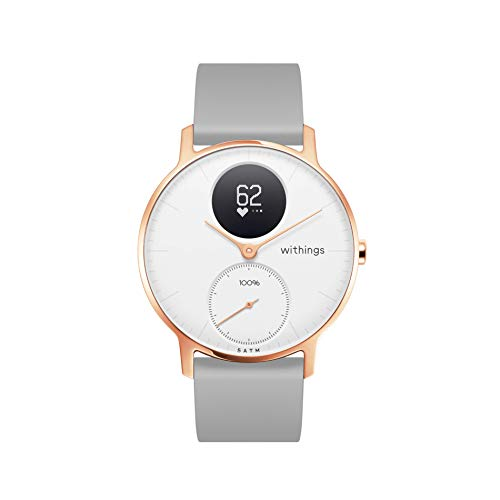 Withings Steel HR - White, Grey Silicone - 36mm