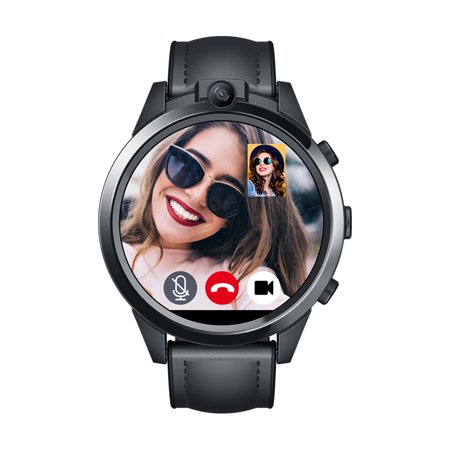 Zeblaze THOR 5 PRO Smart Watch 1.6-inch LTPS Crystal Screen Quad Core Processor 3GB RAM+32GB ROM 5.0MP Dual Cameras Fitness Activity Tracker Heart Rate Monitor 4G LTE Smartwatch for Android iOS
