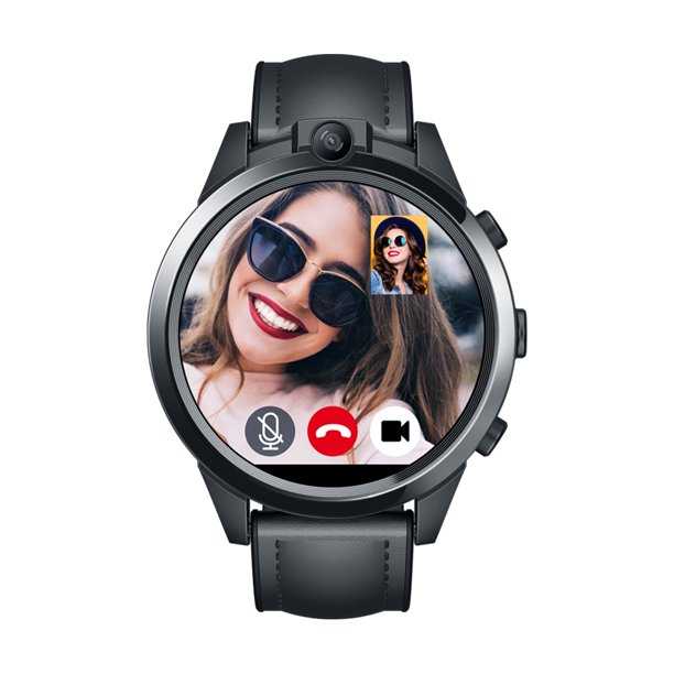 Zeblaze THOR 5 PRO Smart Watch 1.6-inch LTPS Crystal Screen Quad Core Processor 3GB RAM+32GB ROM 5.0MP Dual Cameras Fitness Activity Heart Rate Monitor Pedometer 4G LTE Smartwatch for Android iOS