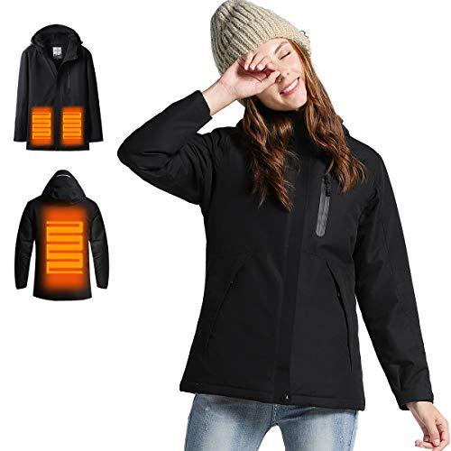 12 Months Warranty – DEWBU Men's Soft Shell Heated Jacket ...