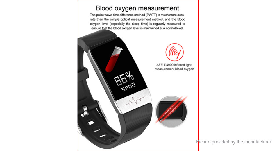 """$17.06 T1 1.14"""" TFT Touch Screen Bluetooth V4.2 Smart ..."""
