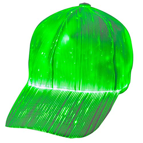 Luminous LED Baseball Cap 7 Colors Glow Hat