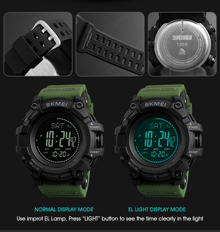 2018 Hot Selling Products Skmei 1358 Sport Digital ...