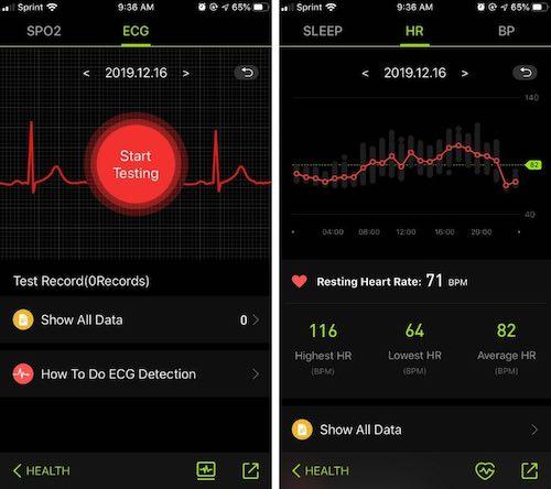 2020 Update: MorePro ECG/EKG Fitness Tracker Review - The ...