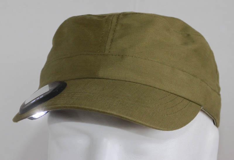 2C Solar Light Cap - self charging solar headlamp