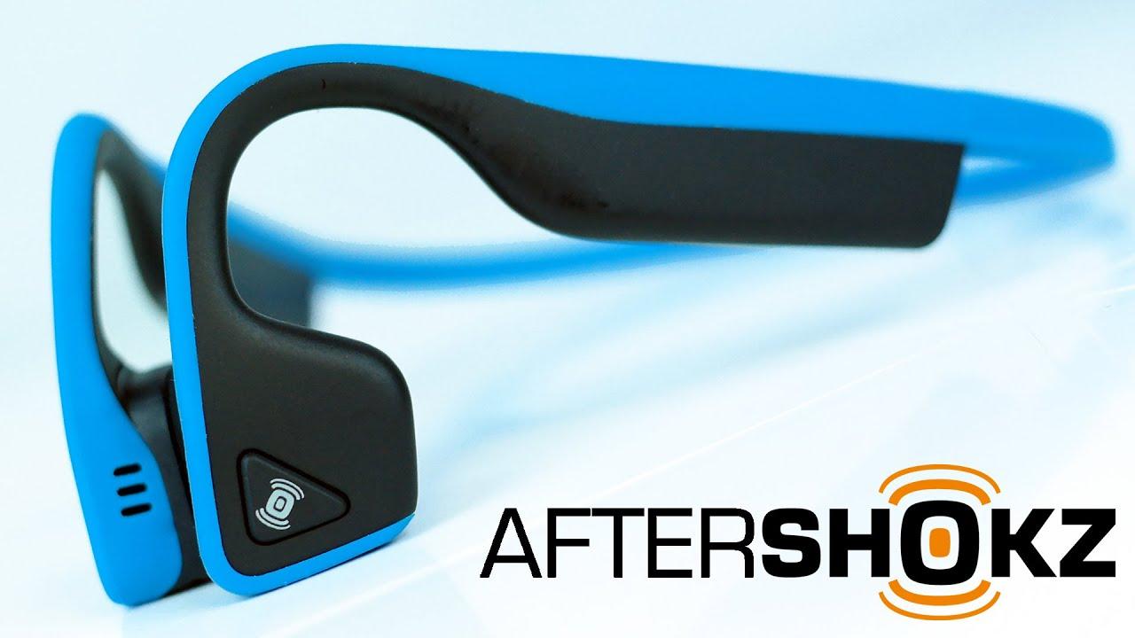 Aftershokz Trekz Titanium Bone Conduction Headphones | The ...