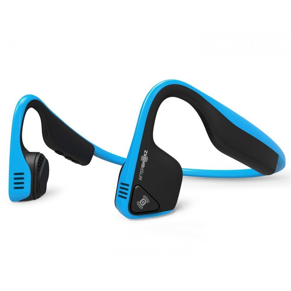 AfterShokz Trekz Titanium Wireless Headphones Blue | BMC ...