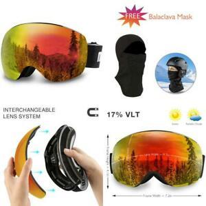 Akaso Otg Ski Goggles, Snowboard Goggles, Mag-Pro Magnetic ...