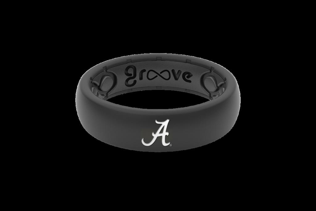 Alabama Silicone Wedding Ring | Lifetime Warranty – Groove ...