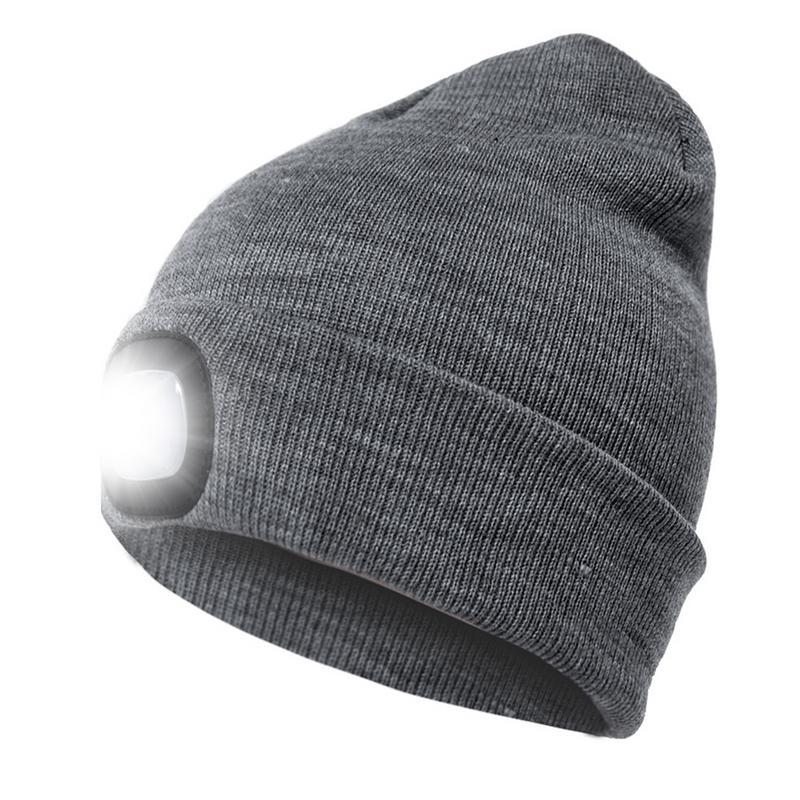 Aliexpress.com : Buy Men Women Warm Outdoor Lighted Knit ...