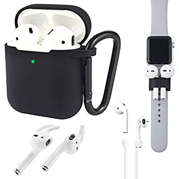 Amazon.com: Airpods case Front Led Visible Accessories Kit ...