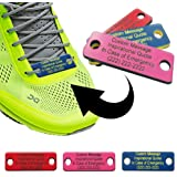 Amazon.com: GoTags Shoe ID Tags, Important ID for Runners ...