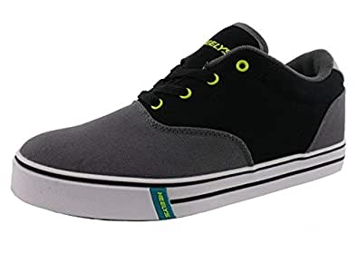 Amazon.com | Heelys Men's Launch Fashion Sneaker Charcoal ...