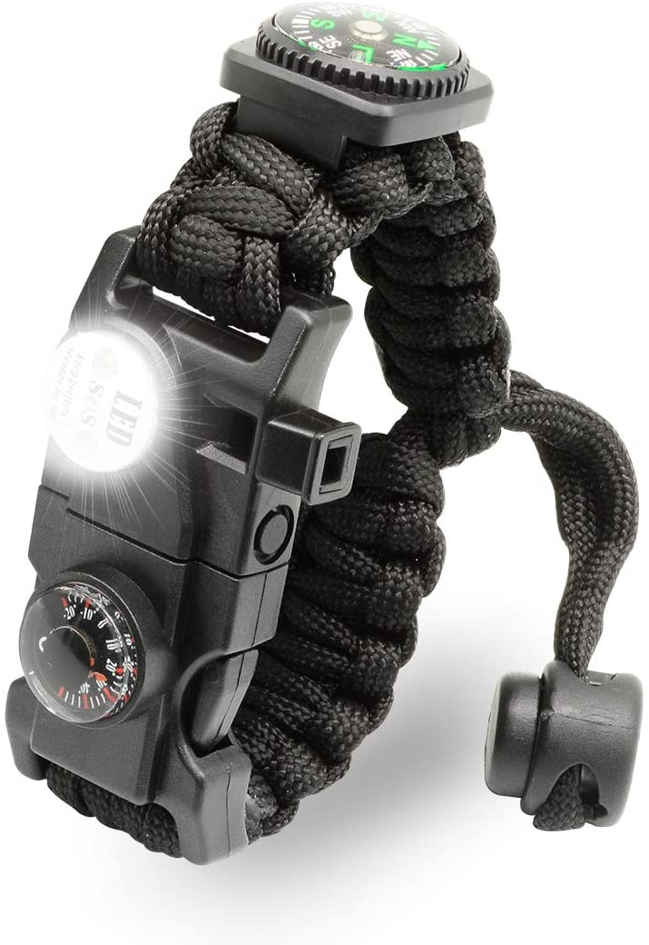 LeMotech 21 in 1 Adjustable Paracord