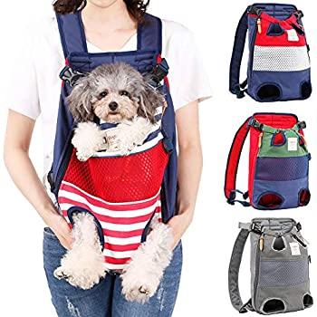 Amazon.com : PetBonus Denim Front Kangaroo Pouch Dog ...