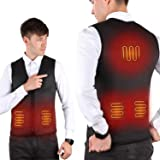 PKSTONE Heated Vest, USB Charging Electric ...