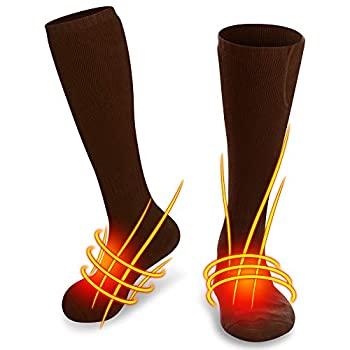 Amazon.com: SVPRO Electric Heated Socks Men Women ...