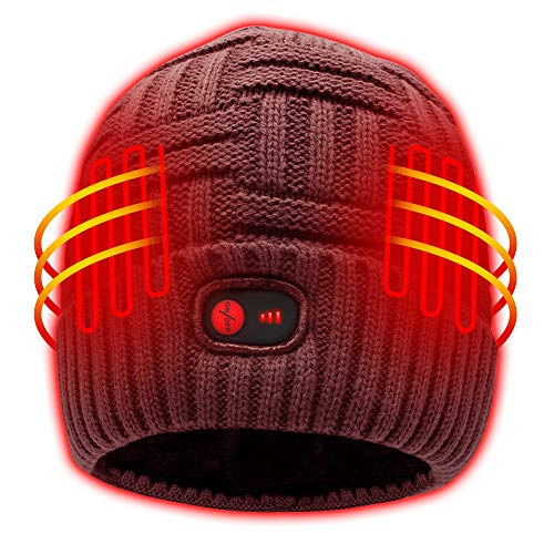 Autocastle Heated Hat - Jujupe Red