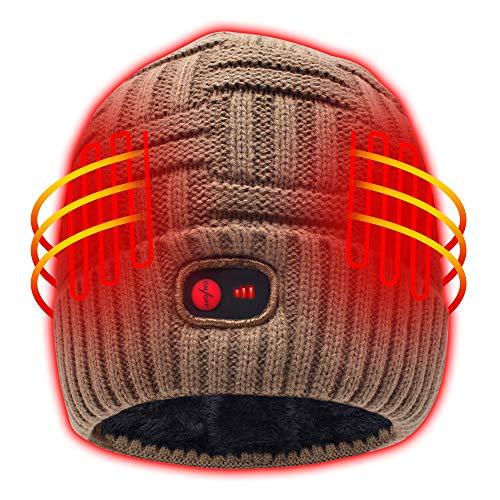 Autocastle Heated Hat - Khaki