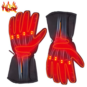 Autocastle Rechargeable Electric Battery Heated Gloves for ...