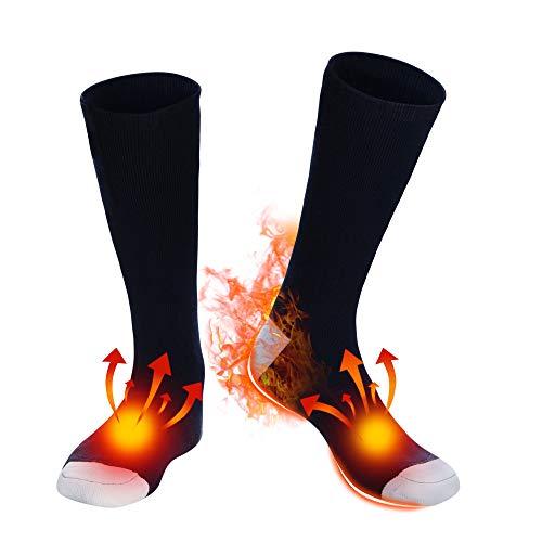Battery Heated Socks for Men Women - NAVY