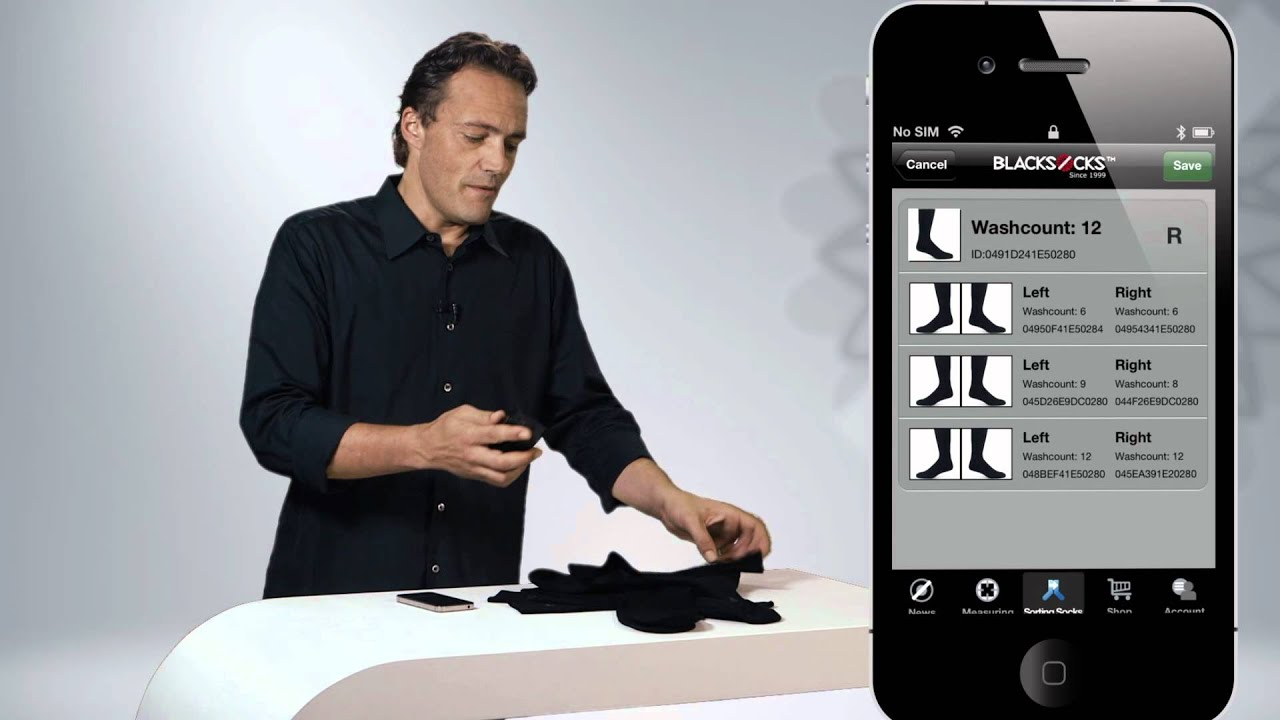 BLACKSOCKS | Smarter Socks - Probably the smartest socks ...