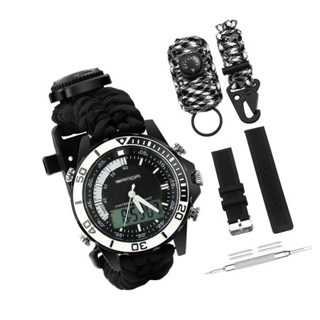 bluestraw - Digital Survival Sport Watch - Waterproof ...