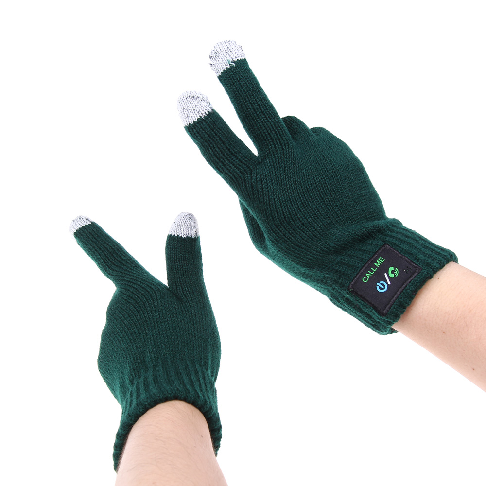 Bluetooth Gloves Knited for Smartphones Talking Glove ...