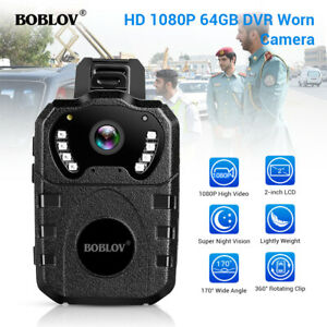 BOBLOV 1080P HDR Police Body Camera Night Vision for ...