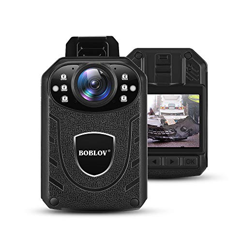 BOBLOV KJ21 1296P Body Wearable Camera Support Memory ...