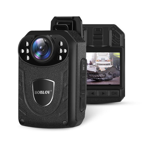 Boblov Ultra HD 1296p Professional Police Body Camera with ...