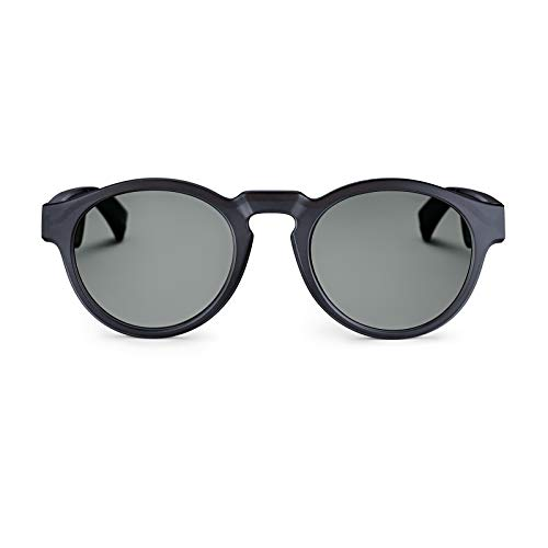 Bose 833417-0100 Frames - Audio Sunglasses with Open Ear Headphones, Rondo, Black - with Bluetooth Connectivity,Regular