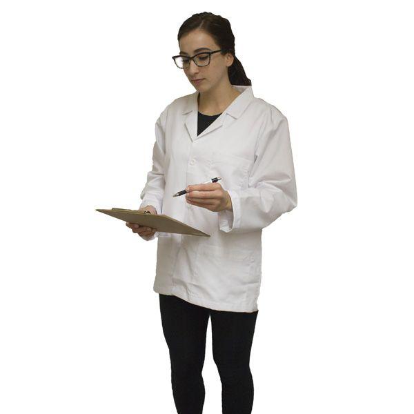 BulletBlocker NIJ IIIA Bulletproof Medical Lab Coat