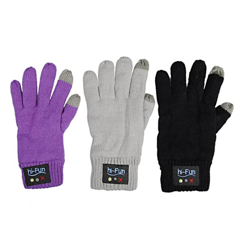 Buy Bluetooth Gloves Unisex Touch Screen Magic Gloves ...
