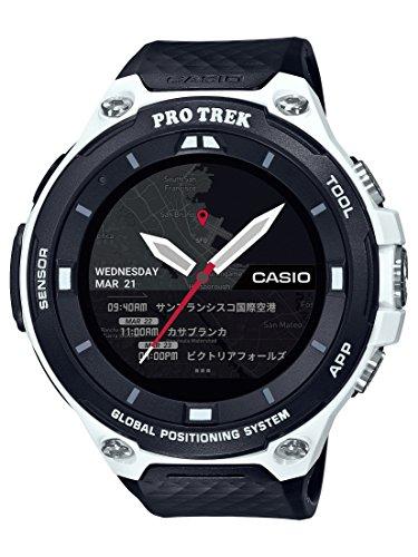 Casio Men's 'PRO TREK' Quartz Resin Outdoor Smartwatch, Color Black (Model: WSD-F20-WECAU)