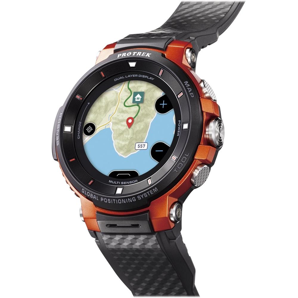 Casio - PRO TREK Smart Smartwatch Orange - Orange