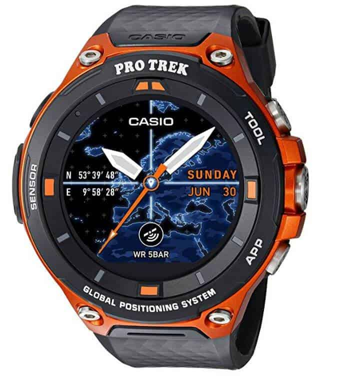 Casio Pro Trek Smart Watch WSD F20 | TechBug | Pixel ...
